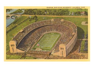 University Stadium, Columbus, Ohio--Art Print