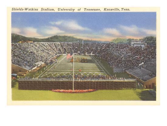 University Stadium, Knoxville, Tennessee--Art Print