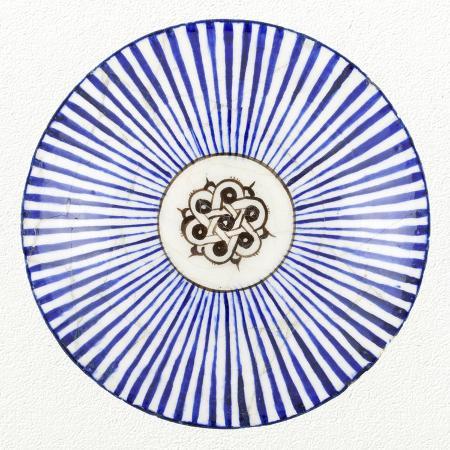 unknown-13th-century-persian-artisan-blue-striped-bowl
