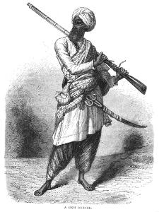 'A Sikh Soldier', c1880 by Unknown