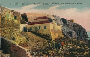 'Afrique Occidentale -Senegal - Gorée - La Falasise et le Castel', c1900 by Unknown