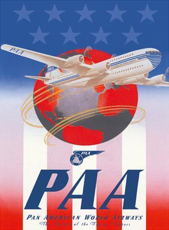 American Stars & Stripes - Pan American Airways (PAA) - Boeing 377 Stratocruiser