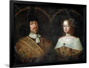 Frederick III of Denmark and his wife Sofia Amalia of Brunswick-Lyneburg, c.1643 by Unknown Artist