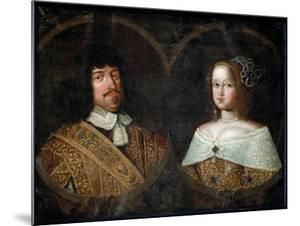 Frederick III of Denmark and his wife Sofia Amalia of Brunswick-Lyneburg, c.1643 by Unknown Artist