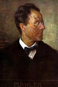 Gustav Mahler by Unknown Artist