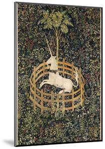 The Unicorn in Captivity, between circa 1495 and circa 1505 by Unknown Artist