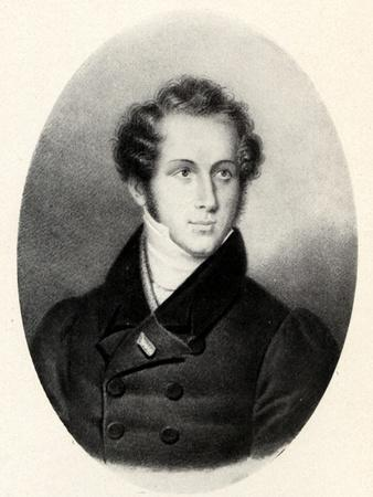 Vincenzo Bellini portrait in Paris