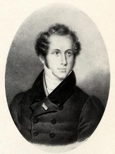 Vincenzo Bellini portrait in Paris by Unknown Artist