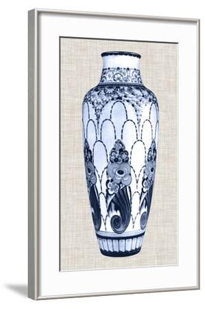 Blue & White Vase I