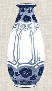 Blue & White Vase II by Unknown