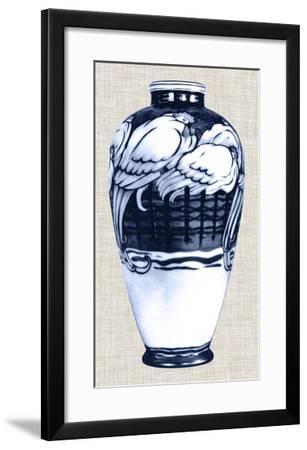 Blue & White Vase VI