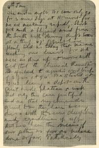 'Facsimile of Page of Shackleton's Diary', 4 January 1909 by Unknown