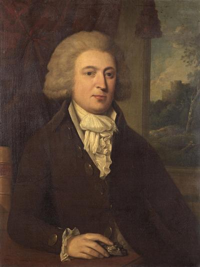 Unknown Gentleman with a Mineral Specimen, C.1790--Giclee Print