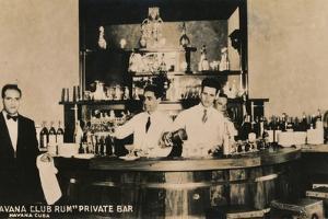 Havana Club Rum, Private Bar, Havana, Cuba, c1900s by Unknown