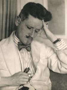 James Joyce, Irish author, 20th century by Unknown