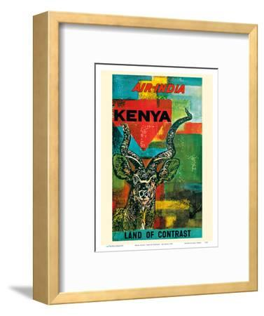 Kenya, Africa - Land of Contrast - Air India