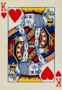 King of Hearts, 1925 by Unknown