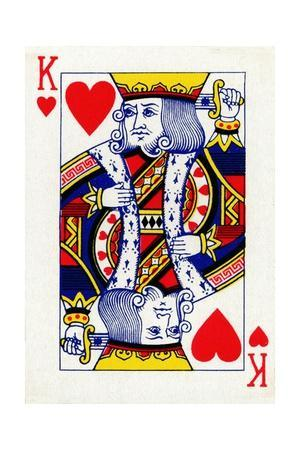 King of Hearts from a deck of Goodall & Son Ltd. playing cards, c1940