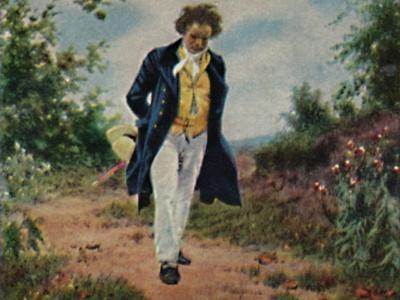 'Ludwig van Beethoven 1770-1827. - Gemälde von Schmid', 1934