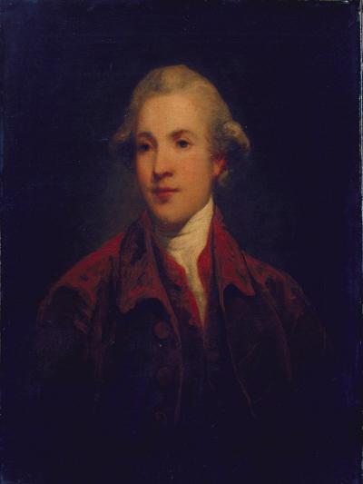 Unknown Man, Called Richard Brinsley Sheridan-Sir Joshua Reynolds-Giclee Print