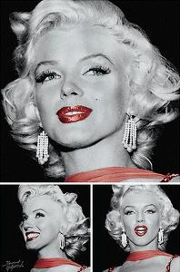 Marilyn - Red Lips Trio by Unknown