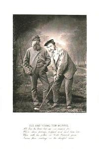 'Old and Young Tom Morris', c1870 by Unknown