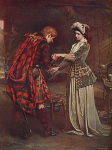 'Prince Charlie's Farewell to Flora MacDonald, 1746' (1905) by Unknown