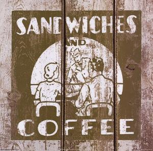 Sandwich and Coffee by Unknown