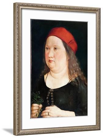 Unknown sitter, 1497-Albrecht Durer Or Duerer-Framed Giclee Print