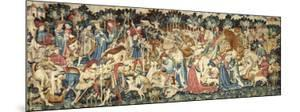 The Devonshire Hunting Tapestries; Boar and Bear Hunt, (late 1425-1430 (made) - 1430) by Unknown Tapestry Artist