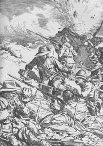 The Battle of Spion Kop, Boer War, South Africa, 1900 (1906) by Unknown