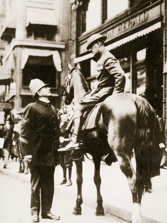 The Boston Police Strike, Massachusetts, USA, September 1919
