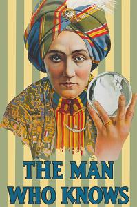 The Man Who Knows - Alexander the Magician (Claude Conlin) by Unknown