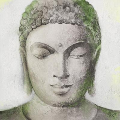 Peaceful Buddha Green