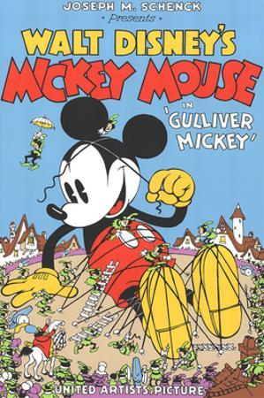 Walt Disney's Mickey Mouse-Gulliver Mickey