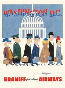 Washington D.C. - Braniff International Airways by Unknown
