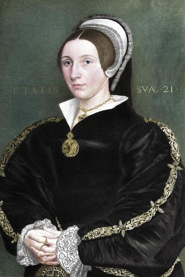 Unknown woman formerly thought to be Catherine Howard, 1902-Unknown-Giclee Print