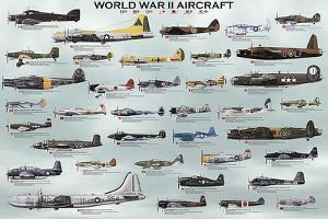 World War II Aircraft by Unknown