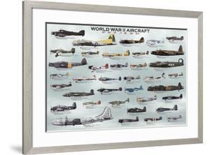 World War II Aircraft by Unknown
