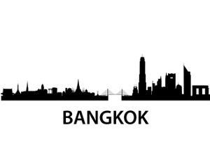Bangkok Skyline by unkreatives