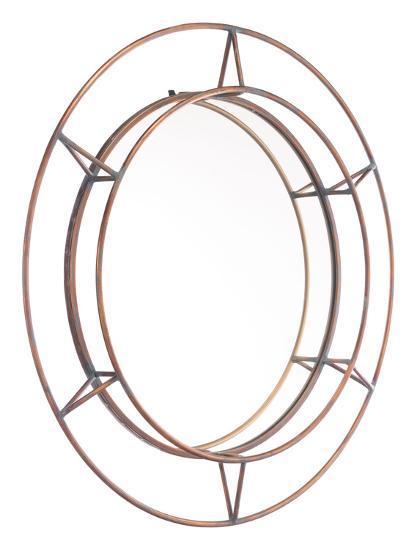 Uno Mirror Antique--Wall Mirror