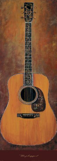 Unplugged-Jill Barton-Art Print