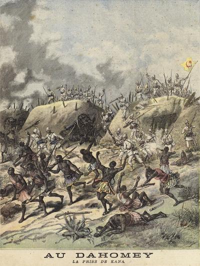 Unrest in Dahomey--Giclee Print