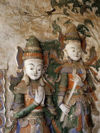Unrestored Shrines at Nyaung Ohak Monastery, Inle Lake, Shan State, Myanmar--Photographic Print
