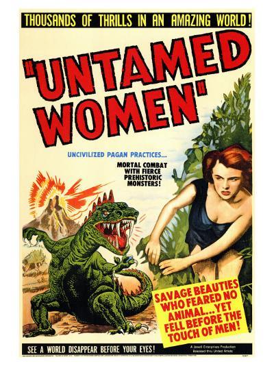 Untamed Women, 1952--Art Print