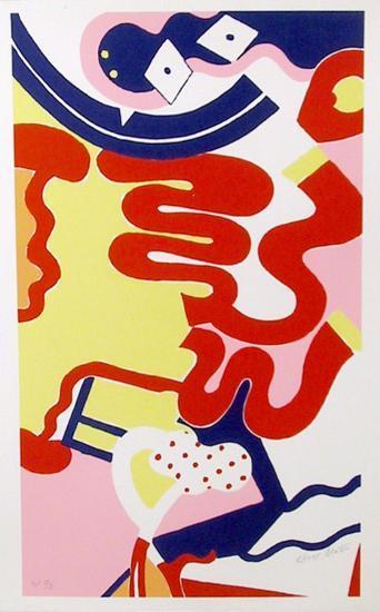 untitled 11-Knox Martin-Serigraph