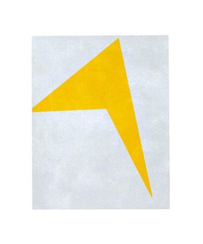 Untitled, 1917 (Yellow)-Ivan Kljun-Serigraph