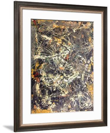 Untitled (1949)-Jackson Pollock-Framed Art Print