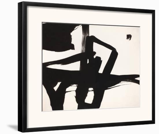 Untitled, 1950-Franz Kline-Framed Giclee Print