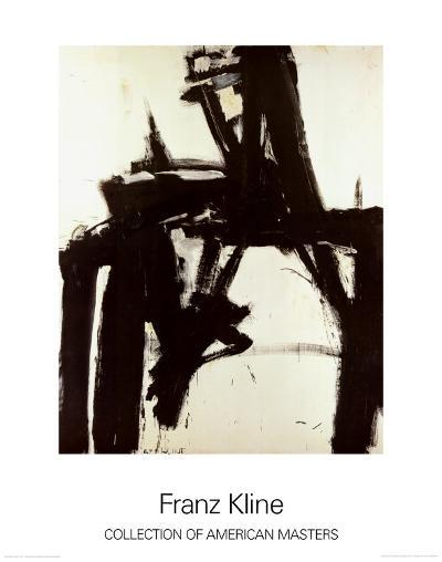 Untitled, 1957-Franz Kline-Art Print